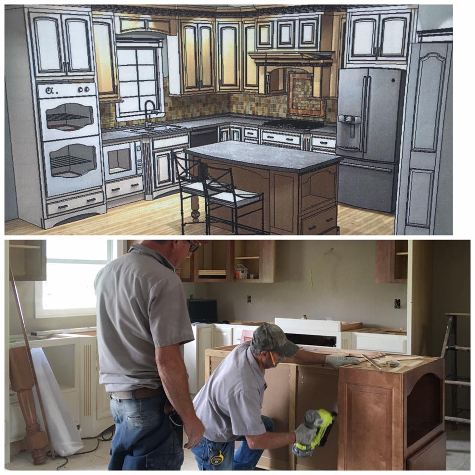luxury kitchen remodel in fort wayne | eagle contracting